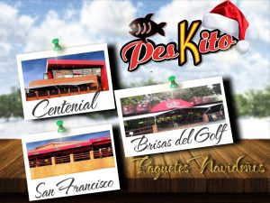 Menú Navideño de tus Restaurantes Peskito…